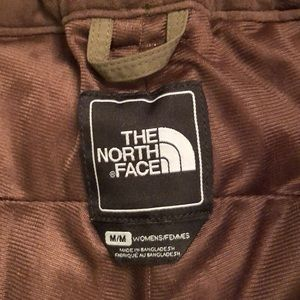 North Face Olive Green Snow Pants